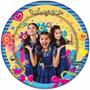 Prato Aniversário Festa Infantil Chiquititas 16 Unid
