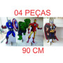 Display Vingadores, Totem De Chão Lindos - 4 Peças De 90 Cm