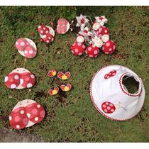 Kit Decoração Joaninha