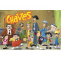 Painel Chaves Banner Turma Do Chaves - 0,90 X 1,40