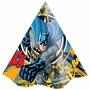 Chapéu De Aniversário Festa Infantil Batman Clássico 24uni