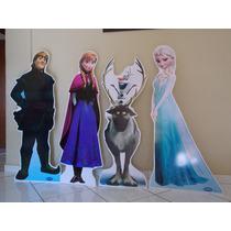 Kit Display De Chão Frozen - Kit Com 4 Unidades