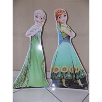 Kit Display De Chão Frozen Fever Anna E Elsa - 1 Metro