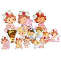 Display Mesa Festa Infantil Moranguinho Baby-kit 2