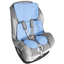 Capa Para Carrinho E Bebê Conforto 100% Algodão Lavavél Azul