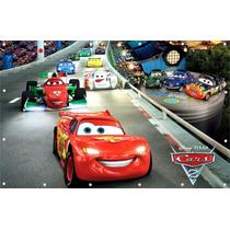 Painel Carros Disney Banner Carros Disney - 0,90 X 1,40 Cm