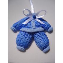 Lembrancinha Maternidade Nascimento Biscuit Menino Ref. 03