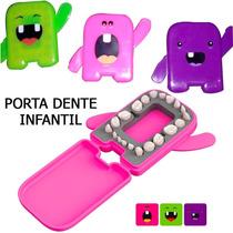 Atacado! Porta Dentes Infantil De Leite Album Dental 12 Unid