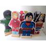 Kit 8 Displays De Mesa Lego Herois Mdf Festa Enfeite Totem