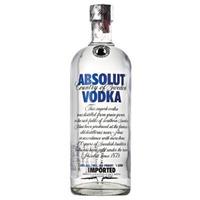 Vodka Absolut Original Lacrada- 1 Litro