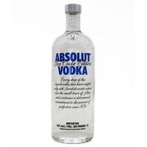 Vodka Absolut Sea Cruise Rara - Lacrada + Frete Grátis