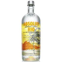 Vodka Absolut Rio 1 Litro - Edição Limitada.