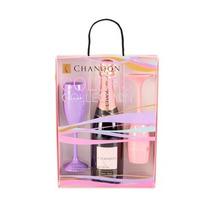 Kit Chandon Collection Rosé Pack Com 2 Taças Coloridas