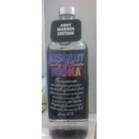 Vodka Absolut Andy Warhol Edição Limitada 1 L Lacrada.