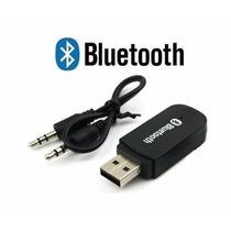 Transmissor Receptor Bluetooth Som Carro E Casa + Cabo Rca