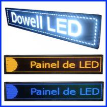 Painel De Led, Letreiro Digital Luminoso 2m X 40cm