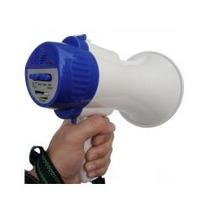 Megafone Recarregável De Mão C/ Gravador + Frete Grátis