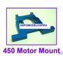 Metal Motor Mount For T-rex 450 Se V2 Gf Cf