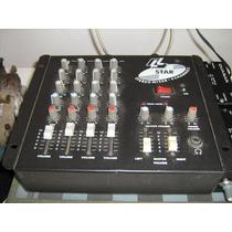 Mesa De Som De 4 Canaise 2 Amplificadores-