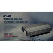 Inversor 2000w Com 4000w De Pico 12v Para 220v Super Voyager