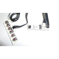 Placa Power Função + Sensor Tv Cce C420 1.10.73342.01 - Cod1