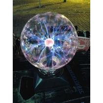 Bola Tesla Globo Eletrostática Ball Plasma Raios 16 Cm Gigan