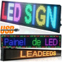 Painel De Led, Letreiro Digital Indoor Outdoor 1.00m X 20cm