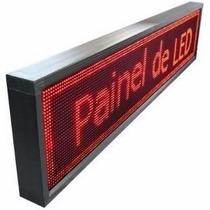 Letreiro Digital Painel De Leds 1 Metro Configuravel Softwar