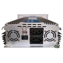 Inversor De Voltagem Automotivo 3000w 12v Para 220v Ou 110v
