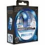 Lâmpada Colorvision H7 55w 12v 60% Mais Luz Azul Philips