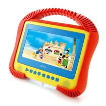 Dvd Portátil Infantil Kids Dvt-k3001 Suporte Carro Tectoy
