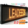 Painel Indoor Outdoor Letreiros Led Digital 1metro X 20cm