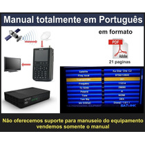 Manual Do Localizador De Satélite Antena Satlink Ws6906