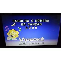 Videokê Raf Eletronics Vmp 2000a ( Favor Ler Todo O Anúncio)
