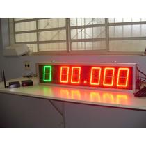 Fotocelula + Placar Team Penning 6 Dígitos (sorteio Do Boi)