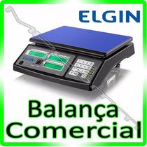 Balança Comercial Digital E Automação - Elgin Sa110 * 15kg *