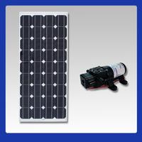 Kit Bomba Dágua Shurflo Com Painél Solar De 140w ( Placa )