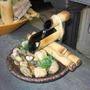 Fonte De Água Bambu E Cerâmica 2 Quedas - Frete Barato