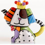 Escultura Mini Bule Dog Romero Britto