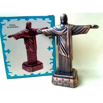 Miniatura De Metal Apontador De Lápis - Cristo Redentor 614