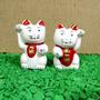 Par De Gatinhos Da Sorte - Gato Chinês -maneki Neko
