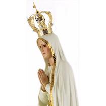 Imagem De Nossa Senhora De Fátima - 70cm Em Resina