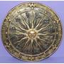 Mandala Egípcia Ou Solar Com Signos - Resina (exclusiva).
