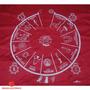 Toalha Cigana Vermelha 70cm Para Altar E Baralho Cigano