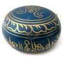 Tigela Tibetana Azul 11x6cm Sino E Canto Alto