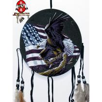 Escudo Da Medicina Xamã Totem Águia Filtro Dos Sonhos