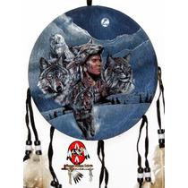 Escudo Da Medicina Xamã Nativo Filtro Dos Sonhos Indígena