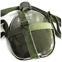 Frete Gratis Todo Brasil Cantil Militar Aluminio Com Alça