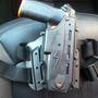 Coldre De Coxa Em Polímero P/ Pistola De Choque Spark-condor