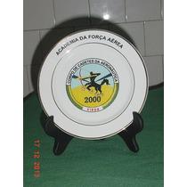 * Prato - Academia Da Força Aérea - Material: Porcelana *